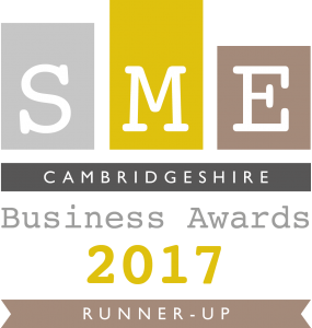 SME Cambridgeshire Business Award_Runner-Up_2017